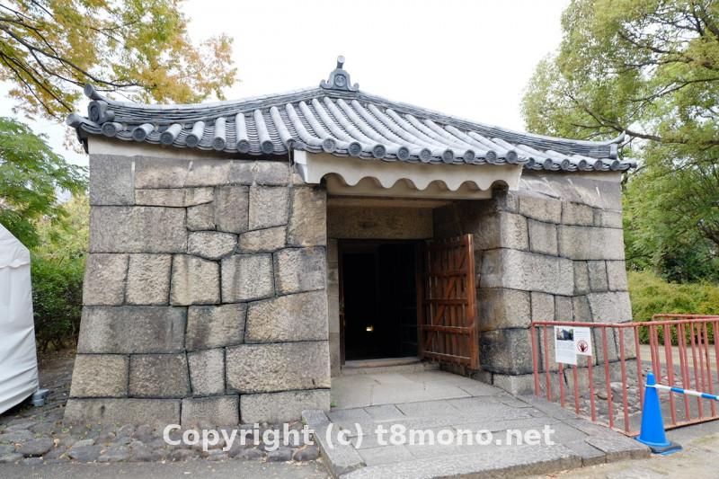 大阪城 焔硝蔵の建物画像