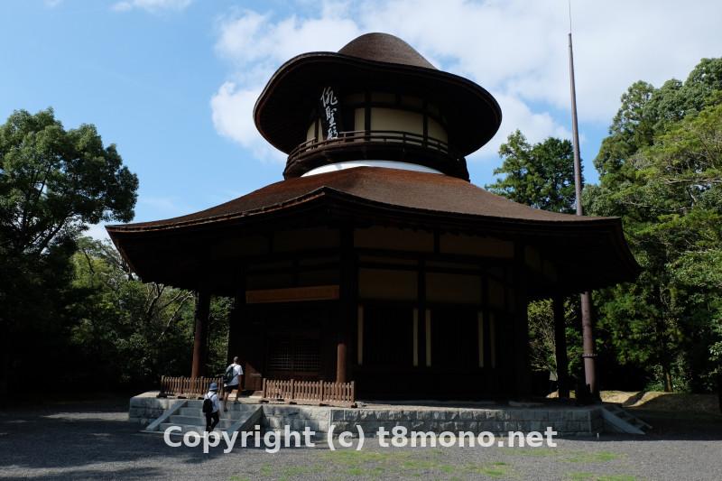 俳聖殿の建物画像