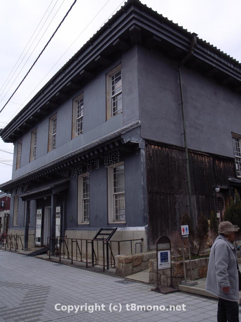 黒壁ガラス館本館(旧第百三十銀行長浜支店)