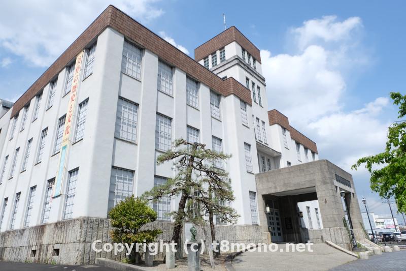津山郷土博物館(旧津山市庁舎)