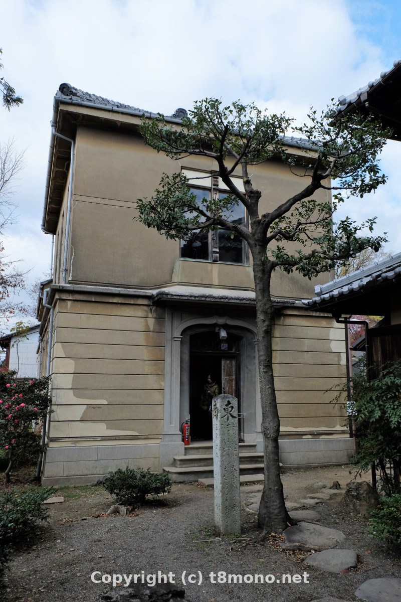 櫻谷文庫(旧木島櫻谷家住宅)洋館