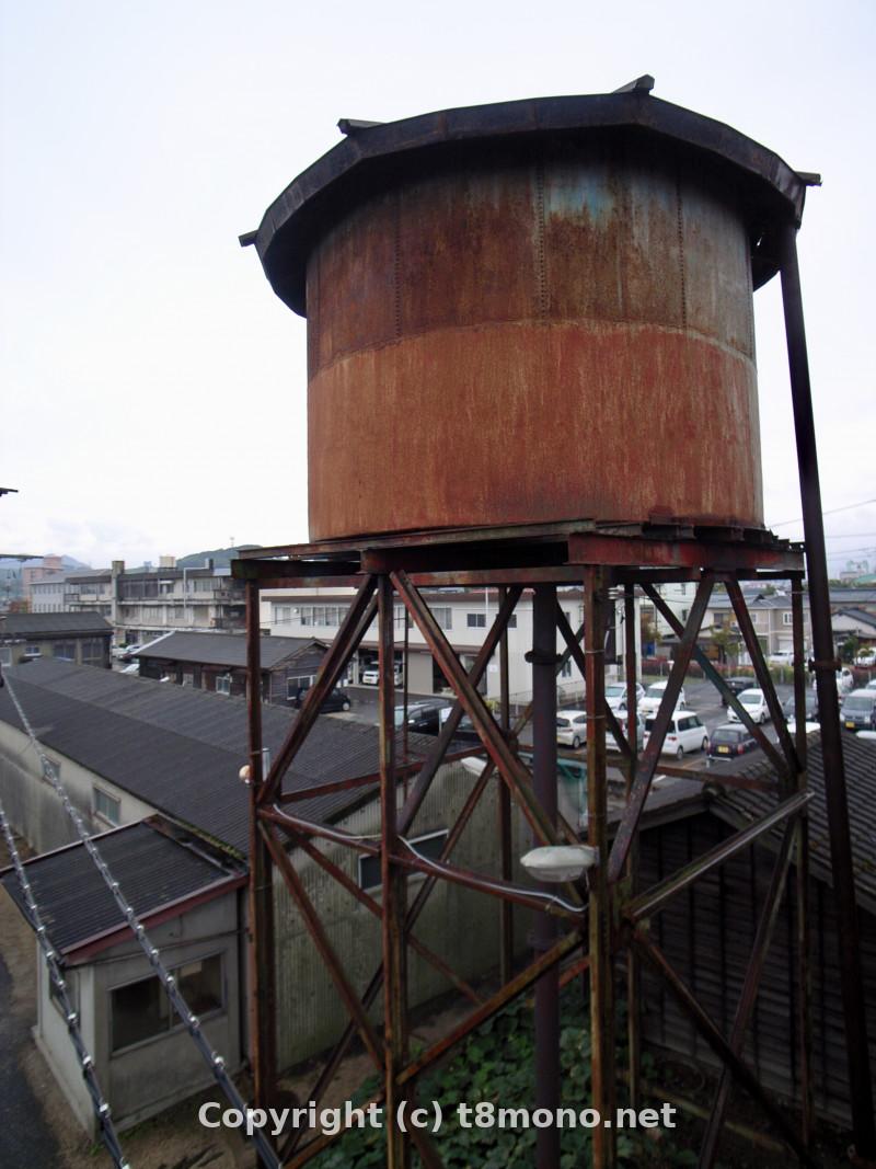 JR多度津駅構内給水塔二